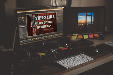 Projeto Cantar Inglês, quero mais vídeo aulas!